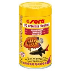 Sera Artemia Shrimps alimento per pesci