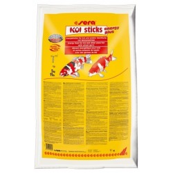 Sera Koi Sticks Energy Plus 5Kg mangime per pesci