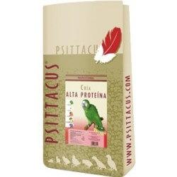 Psittacus Allevamento Formula Alta Proteina 12kg estruso pappagalli riproduttori taglia media grande