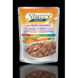 Stuzzy Dog con pesce oceanico in jelly buste 100g