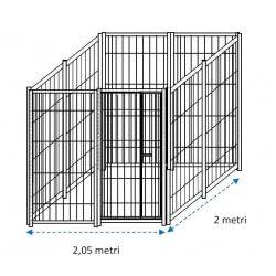 Siderbox Box solo perimetro 2m x 2m