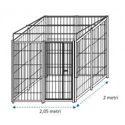 Siderbox Box con predisposizione alla copertura 2m x 2m