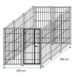 Siderbox Box solo perimetro 3m x 2m