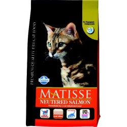 Matisse Neutered al salmone crocchette per gatti