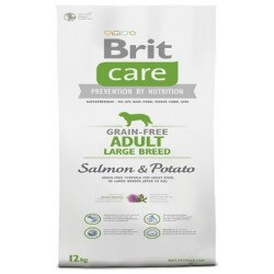 Brit Care Adult Large Salmon & Potato Grain Free crocchette cane senza cereali