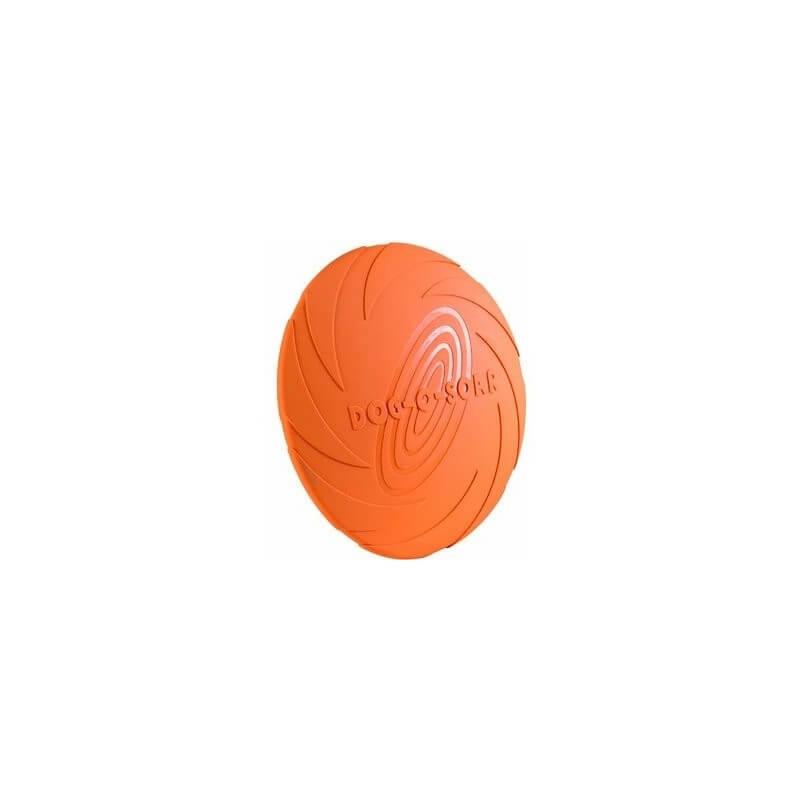 DogLine - Frisbee in gomma gioco per cani