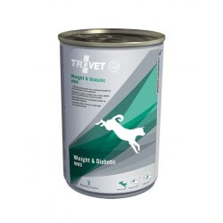 Trovet Weight & Diabetic/Obesity 400g umido cane