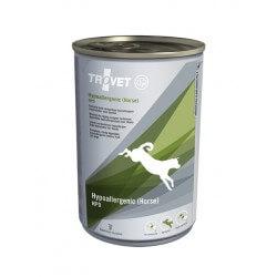 Trovet Hypoallergenic Horse Grain Free 400g umido cane