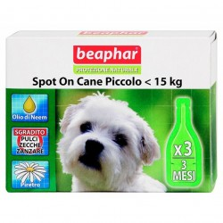 Beaphar antiparassitario naturale spot on Cane Piccolo inferiore a 15kg
