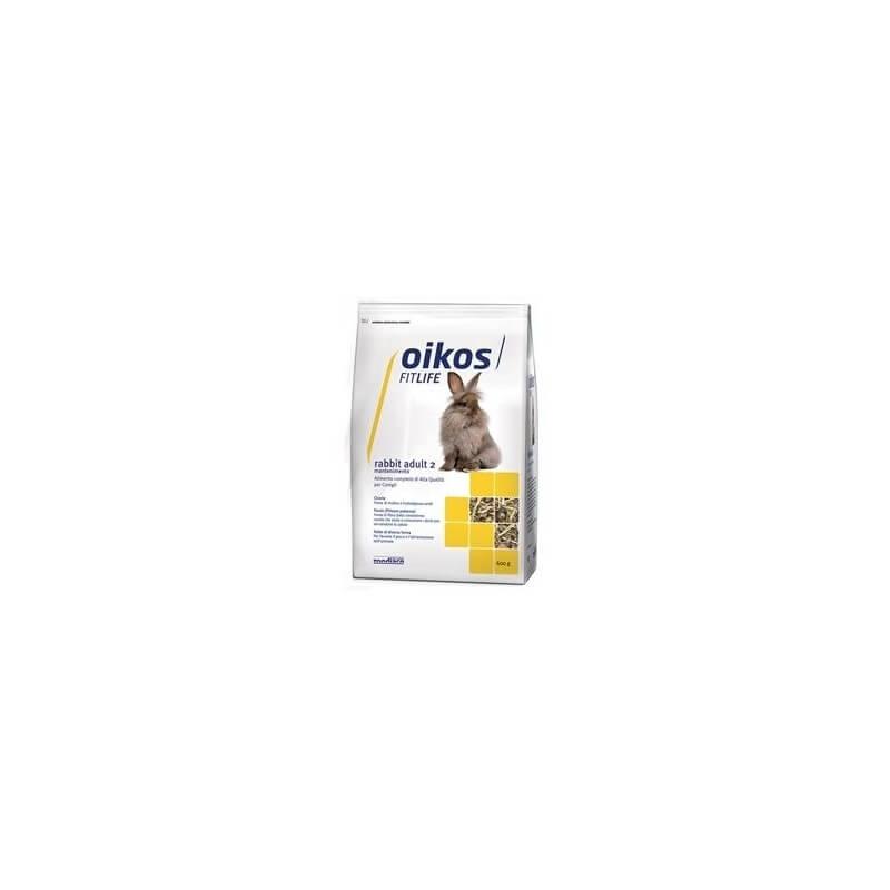 Oikos Rabbit Adult 1 600g alimento completo per conigli