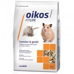 Oikos Hamster & Gerbil 600g alimento completo per criceti e gerbilli