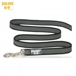 Julius K9 - Guinzaglio SuperGrip nylon e gomma 20mm x 1,2m