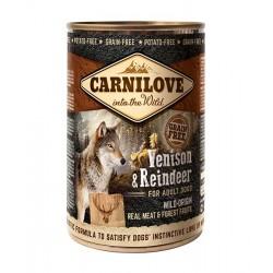 CarniLove Adult Cervo e Renna 400g umido cane