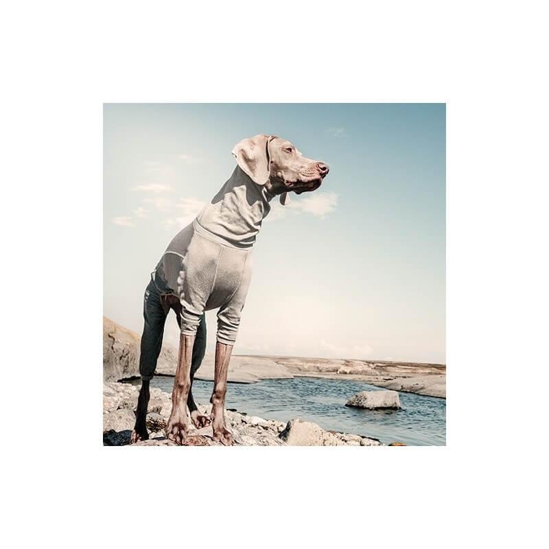 Hurtta Tuta Body Warmer Carbonio per cani