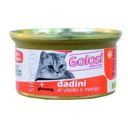 Golosi Cat Dadini al Vitello e Manzo 85g