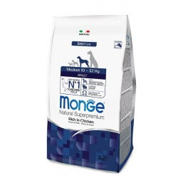 Monge Medium Adult Ricco di Pollo
