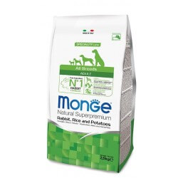 Monge All Breeds Adult Coniglio, Riso e Patate
