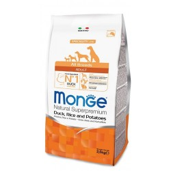 Monge All Breeds Adult Anatra, Riso e Patate 12kg crocchette cane
