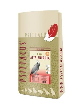 Psittacus Allevamento Formula Alta Energia 12kg estruso pappagalli riproduttori taglia grande
