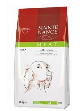 Maintenance Pollo & Pesce Medium 14kg SACCO DANNEGGIATOcrocchette cane