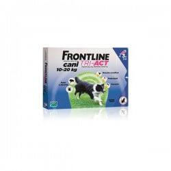 Frontline Tri-Act cane 10-20kg 3 pipette da 2ml