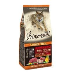 Primordial Adult Anatra e Trota   crocchette grain free