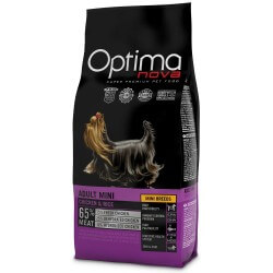 OptimaNova Puppy & Junior Large Pollo e Riso crocchette cane