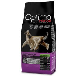 OptimaNova Adult Mini Pollo e Riso crocchette cane