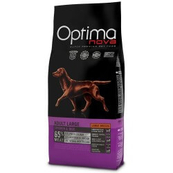 OptimaNova Adult Medium Pollo e Riso crocchette cane