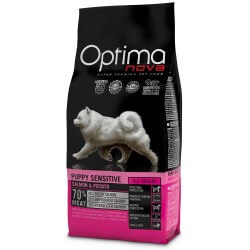 OptimaNova Puppy Digestive Coniglio e Patate GRAIN FREE crocchette cane
