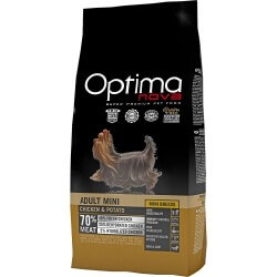 OptimaNova Puppy Sensitive Salmone e Patate GRAIN FREE crocchette cane