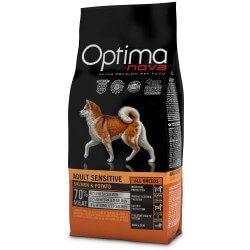 OptimaNova Adult Digestive Coniglio e Patate GRAIN FREE crocchette cane