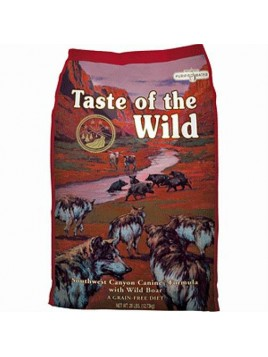 Taste of the Wild Southwest Canyon 13,61Kg crocchetta cane senza cerali SACCO DANNEGGIATO