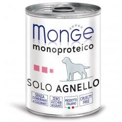 Monge SOLO Agnello 400g umido monoproteico per cani