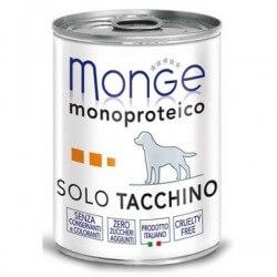 Monge SOLO Tacchino 400g umido monoproteico per cani