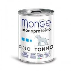 Monge SOLO Tonno 400g umido monoproteico per cani