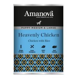 Amanova Puppy Mini Chicken & Rice 150g  umido cane