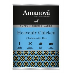 Amanova Puppy Mini Chicken & Rice 150g umido cane