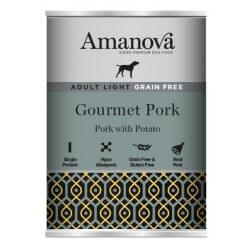 Amanova Adult Medium Salmon & Potato 400g  umido cane GRAIN FREE