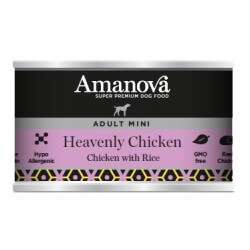 Amanova Puppy All Breeds Salmon & Potato 400g umido cane GRAIN FREE