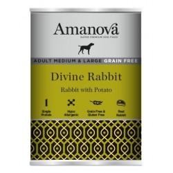 Amanova Adult Mini Salmon & Potato 150g umido cane GRAIN FREE