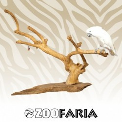 ZOOFARIA  Java Playstand Medium trespolo in legno