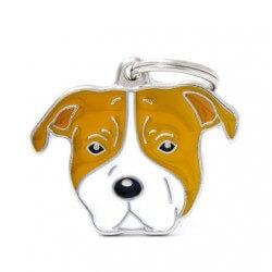 Medaglietta Cane American Staffordshire Terrier 2017