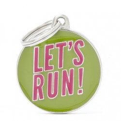Medaglietta Let's Run 2017