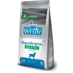Vet Life Hypoallergenic Egg&Rice crocchette dietetiche cane