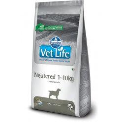 Vet Life Neutered 1-10Kg crocchette dietetiche cane