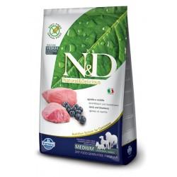N&D Adult Agnello e Mirtillo MEDIUM 2.5kg secco cane senza cereali