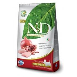 N&D Adult Mini Pollo e Melograno 7kg secco cane senza cereali