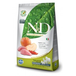 N&D Adult Cinghiale e Mela MEDIUM 7kg secco cane senza cereali