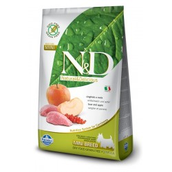 N&D Adult Cinghiale e Mela MINI 7kg secco cane senza cereali